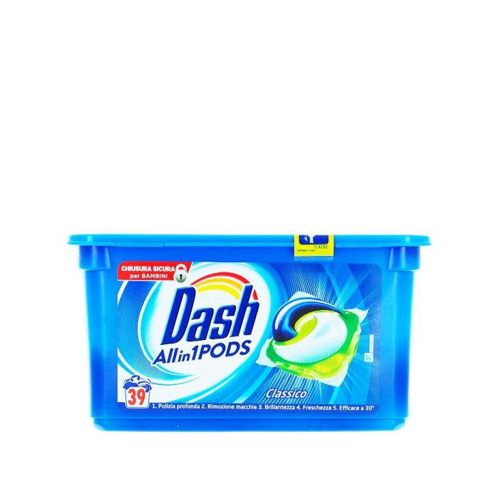 Dash Detergent Capsule 39 buc Allin1 Classico