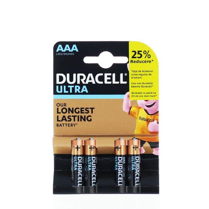 Duracell Baterii R3 4 buc Ultra Longest Lasting Alkaline