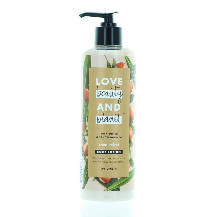 Love Beauty&Planet Lotiune de corp cu pompa 400 ml She Velvet