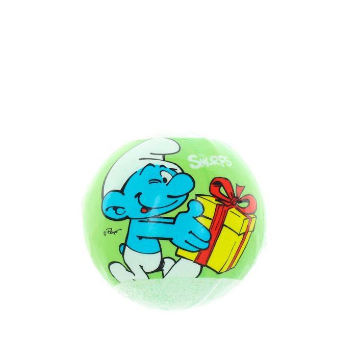 Smurfs Bila efervescenta pentru baie 120 g Green
