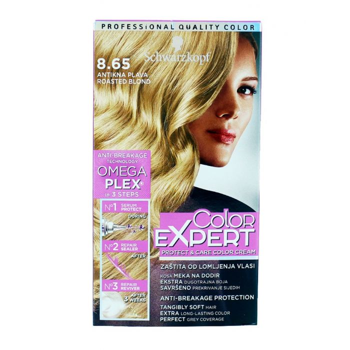 Schwarzkopf Vopsea de par Color Expert Nr 8.65 Roasted Blond