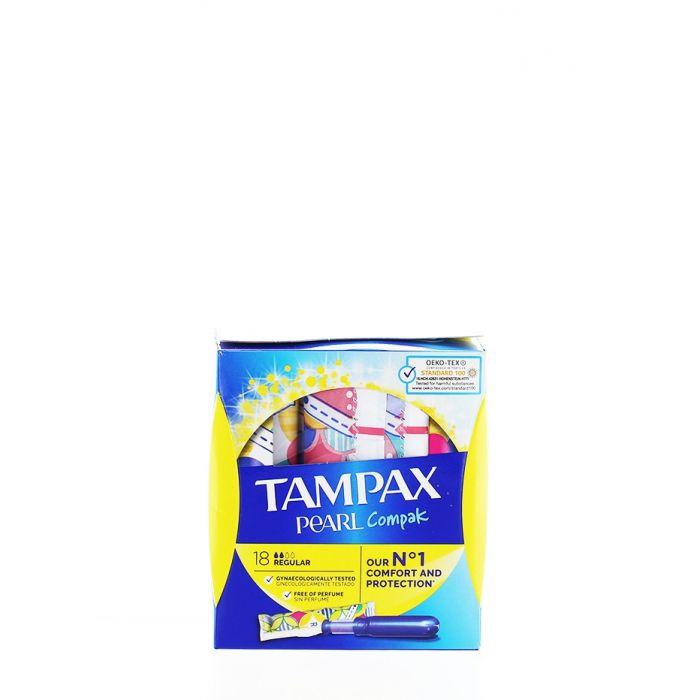 Tampax Tampoane cu aplicator 18 buc Regular