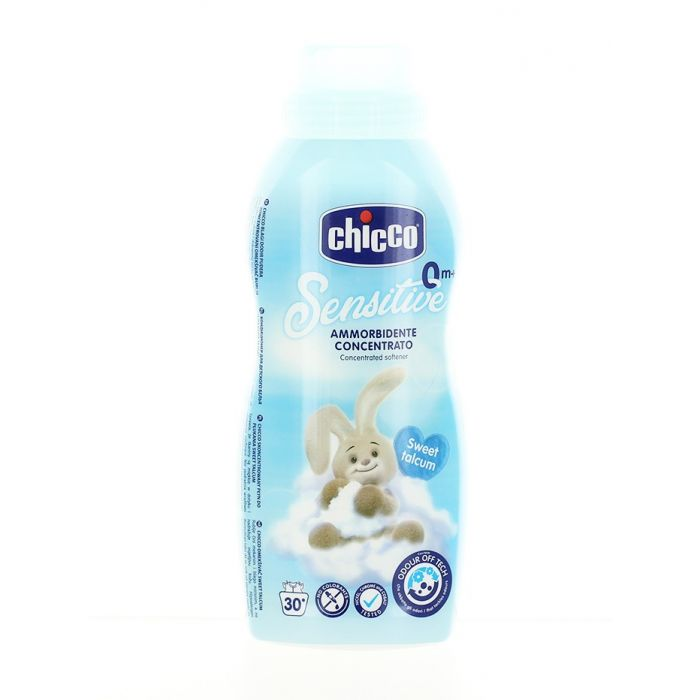 Chicco Balsam de rufe 750 ml Sensitive Skin Sweet Talcum
