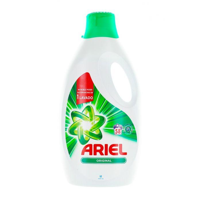 Ariel Detergent lichid 3.19 L 58 spalari Original