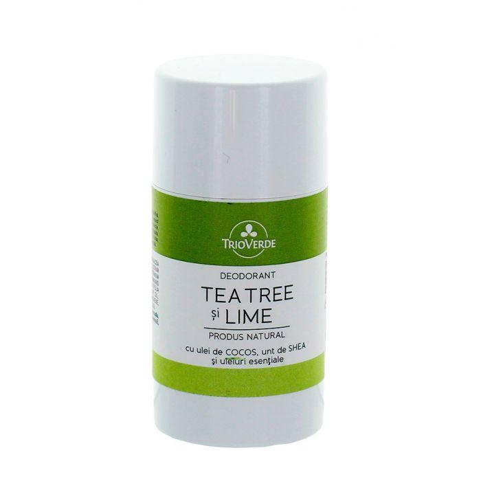 Trio Verde Stick Deodorant natural 60 g Tea Tree & Lime