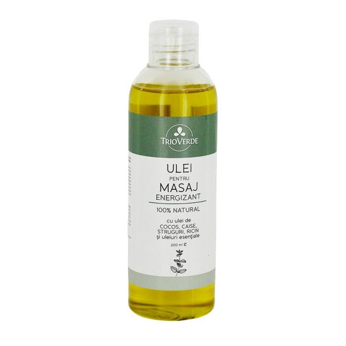 Trio Verde Ulei pentru masaj energizant 200 ml