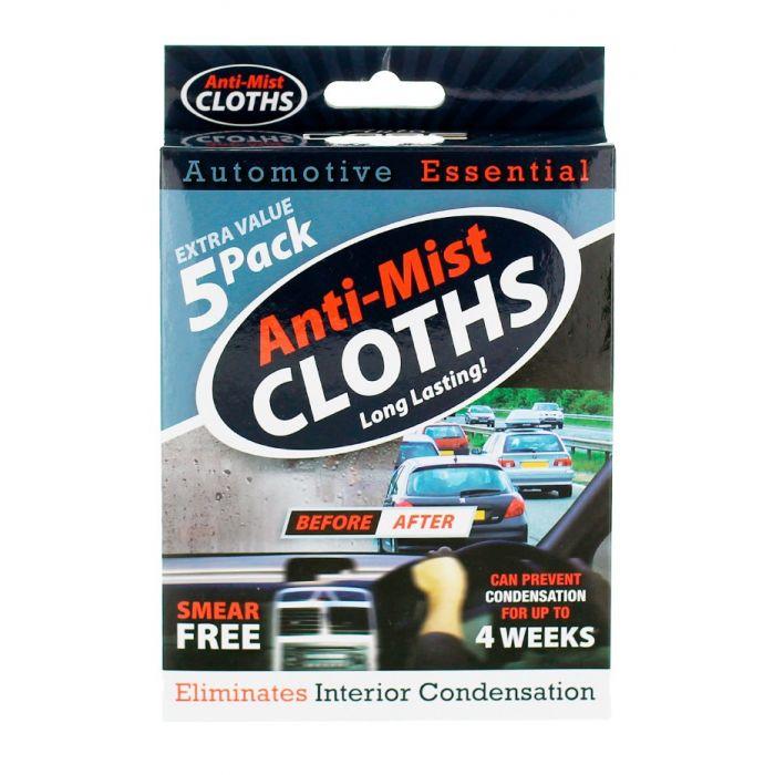Servetele anti-aburire pentru auto 5 buc/pachet