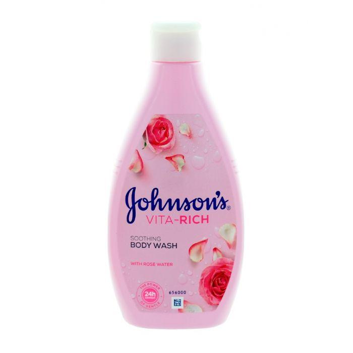 Johnson's Gel de dus 250 ml Vita-Rich Soothing