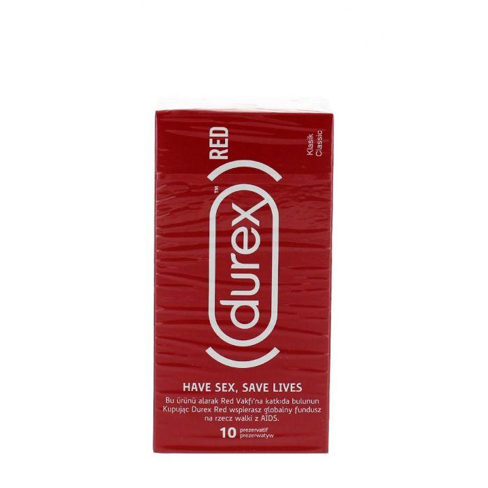 Durex Prezervative 10 buc Red