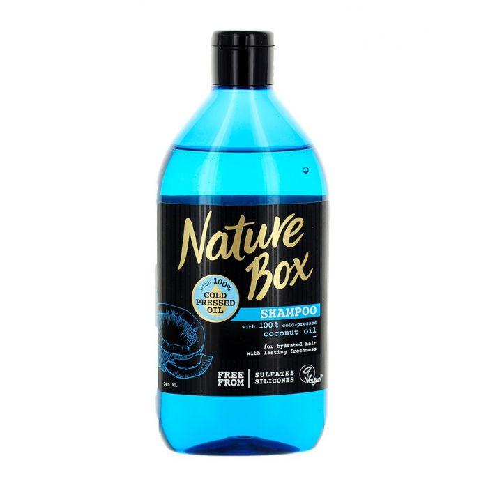 Nature Box Sampon 385 ml Coconut Oil