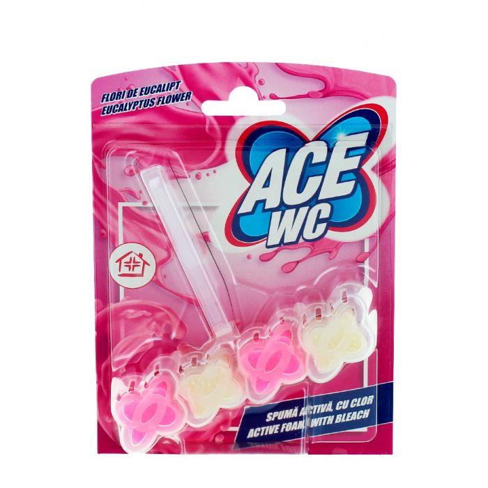 Ace Odorizant wc cu suport 48 g Eucalyptus Flower
