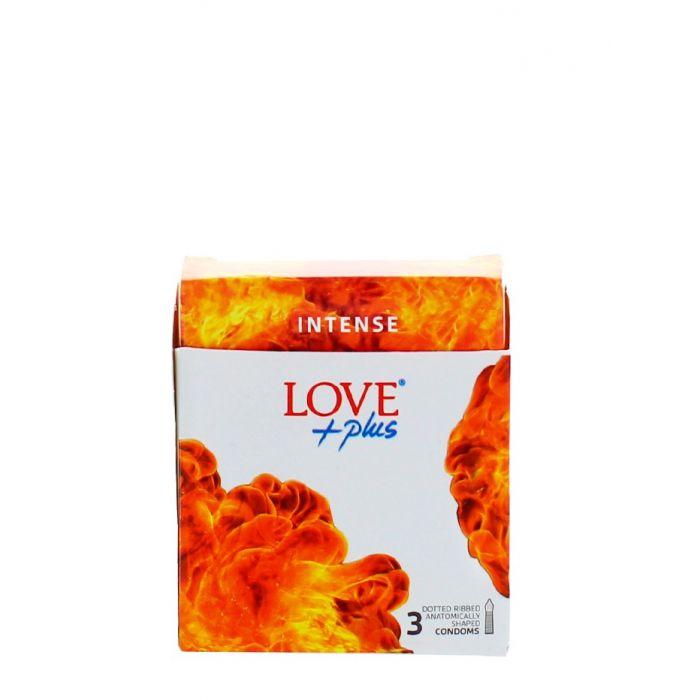 Love Plus prezervative 3 buc Intense