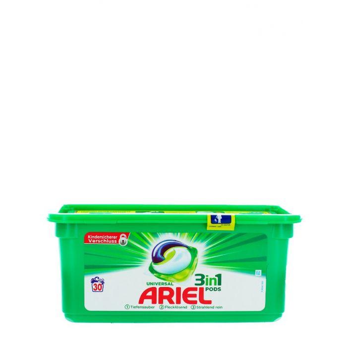 Ariel Detergent Capsule 3in1 30 buc Universal
