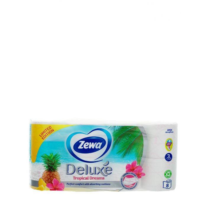 Zewa Hartie toaleta 3 straturi Deluxe 8 role Tropical Dreams