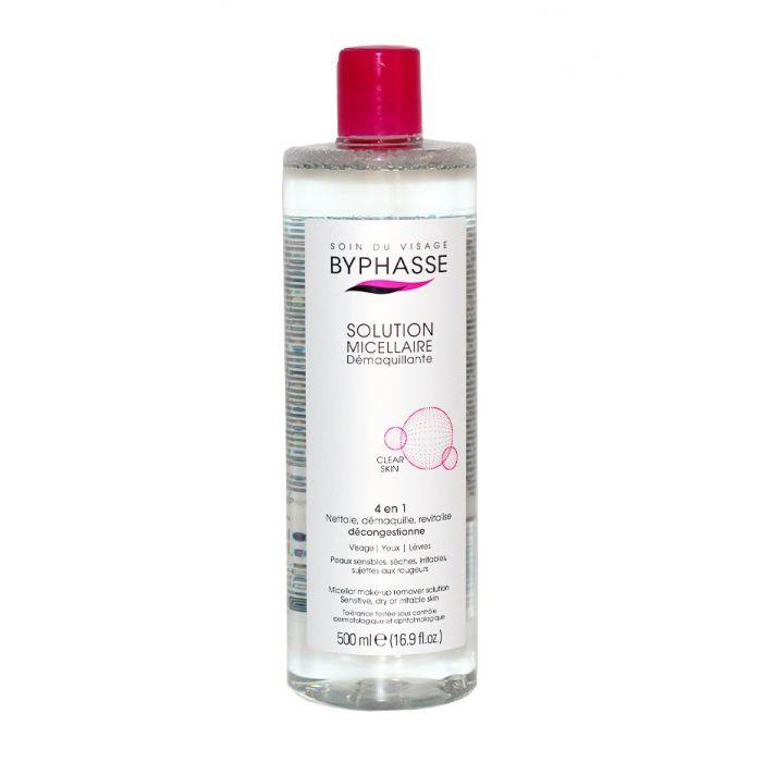Byphasse Solutie micelara demachianta si tonifianta 500 ml Clear Skin