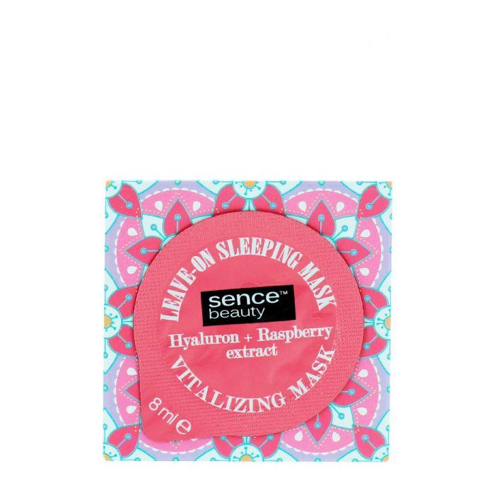Sence Beauty Masca fata de noapte 8 ml Hyaluron+ Raspberry