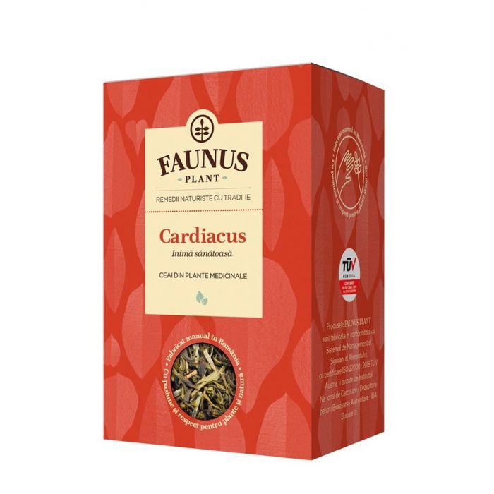 FAUNUS Ceai Cardiacus 90 g (Inima sanatoasa)