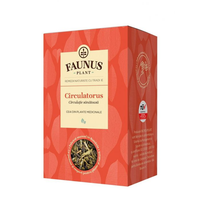 FAUNUS Ceai Circulatorus 90 g (Circulatie sanatoasa)