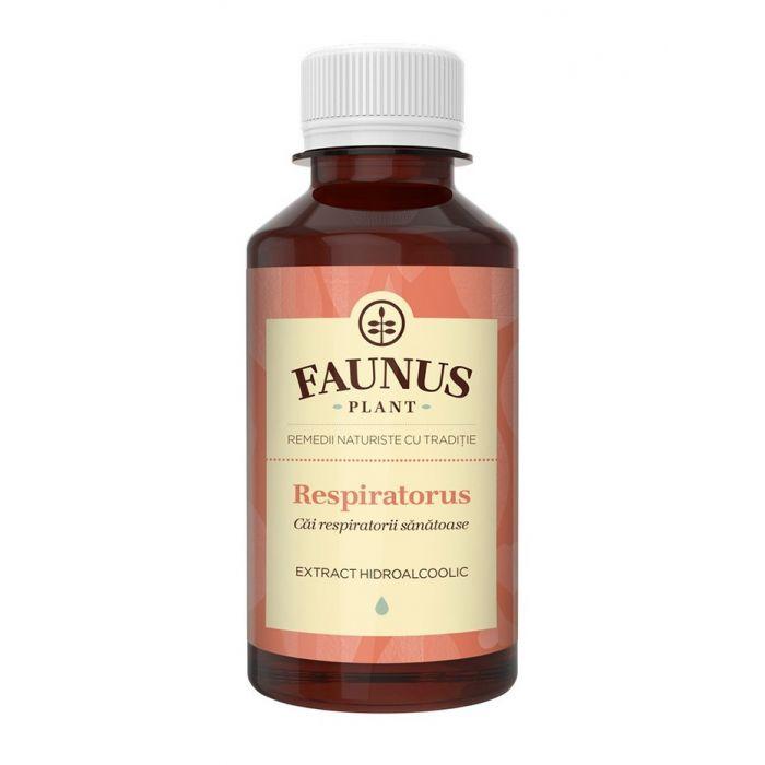 FAUNUS Tinctura Respiratorus 200 ml (Cai respiratorii sanatoase)
