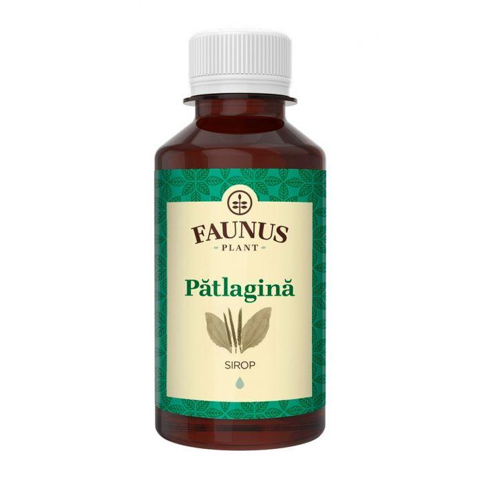 FAUNUS Sirop Patlagina 200 ml