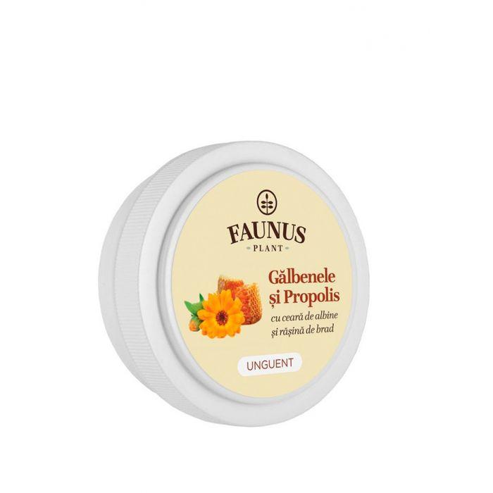 FAUNUS Unguent Galbenele si Propolis 20 ml