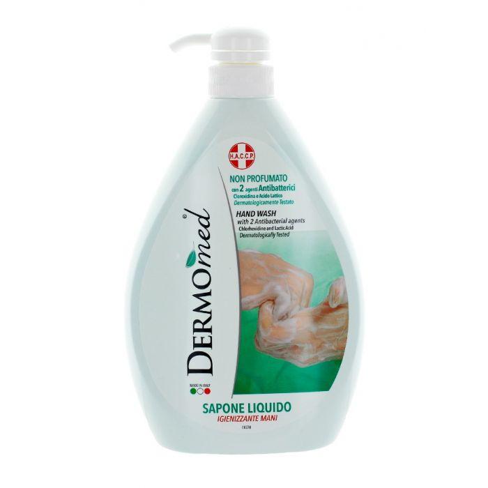 Dermomed Sapun lichid antibacterian cu pompa 1 L Fara miros