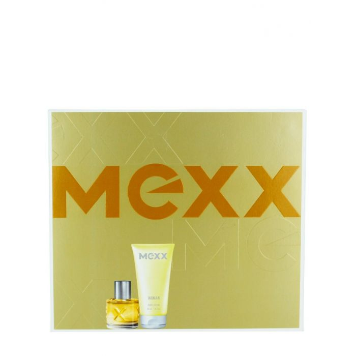 Mexx Caseta femei:Parfum+Gel de dus 20+50ml Woman