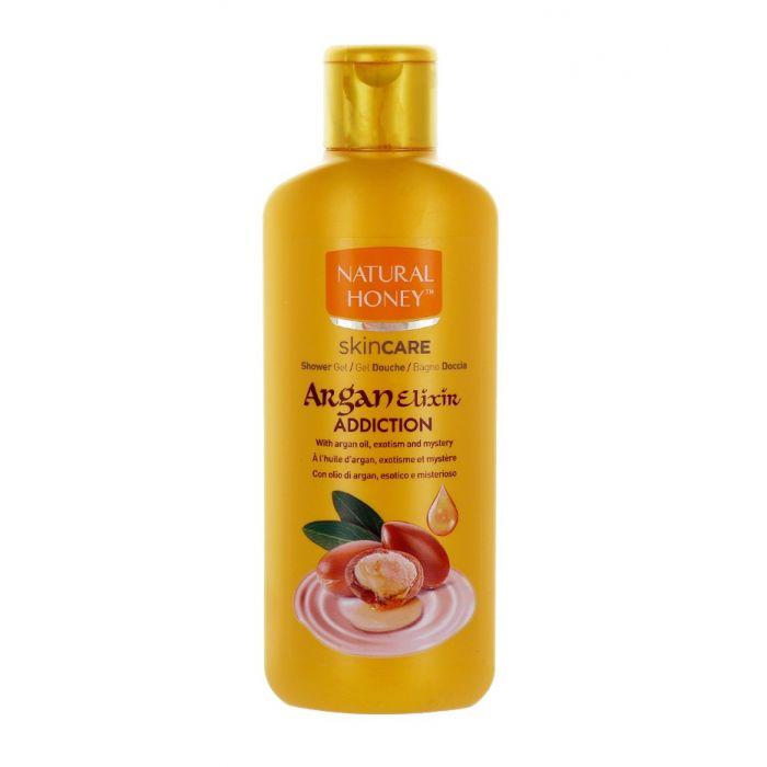 Natural Honey Gel de dus 650 ml Argan Elixir