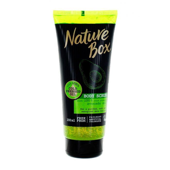 Nature Box Scrub pentru corp 200 ml Avocado Oil (in tub)