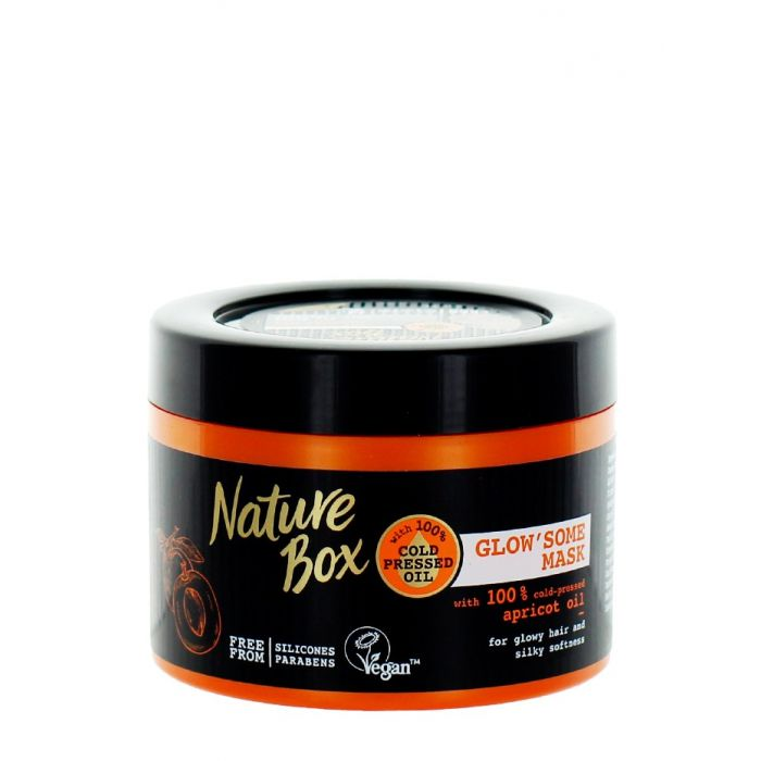 Nature Box Masca de par 200 ml Apricot Oil
