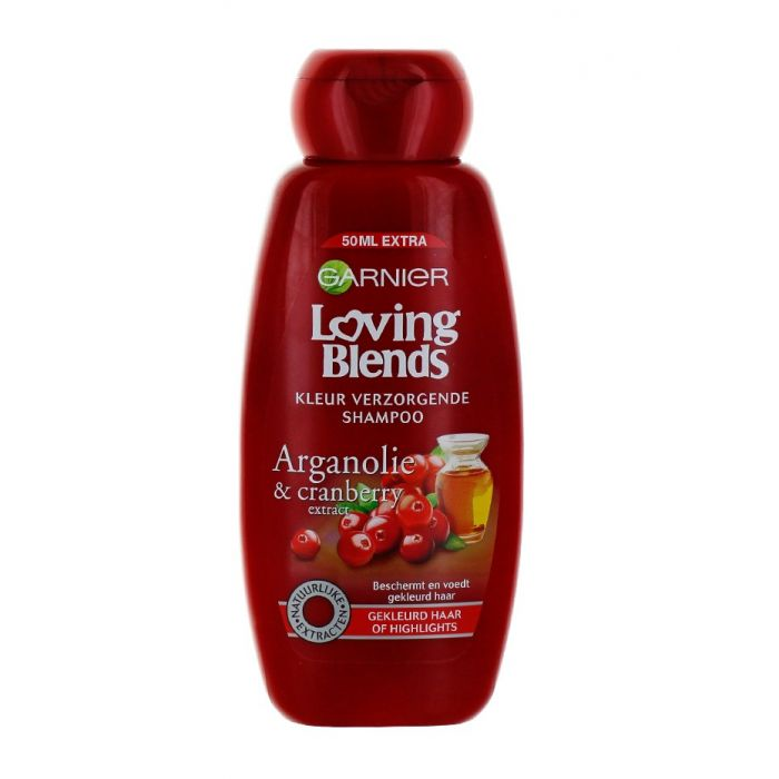 Garnier Sampon Loving Blends 300 ml Arganoil&Cranberry