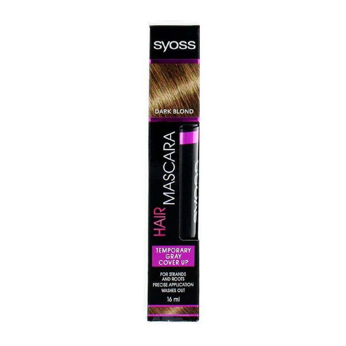 Syoss Colorant de par temporar tip mascara 16 ml Dark Blond