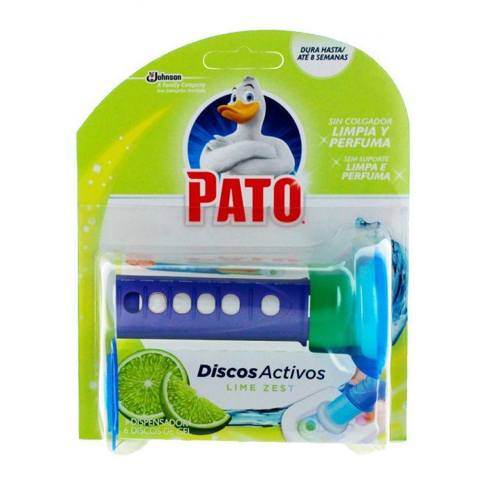 Pato(Duck) Aparat odorizant Wc Fresh Discs 36 ml Lime