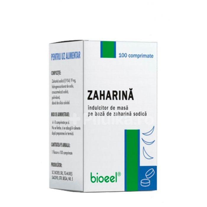Bioeel Zaharina -indulcitor de masa 100 comprimate(1 flacon)