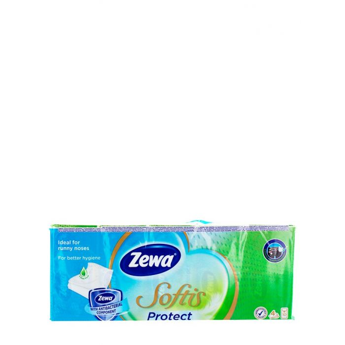 Zewa Batista de hartie 4 straturi 10x10 buc Softis Protect