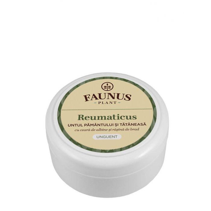 FAUNUS Unguent Reumaticus 50 ml Untul Pamantului si Tataneasa