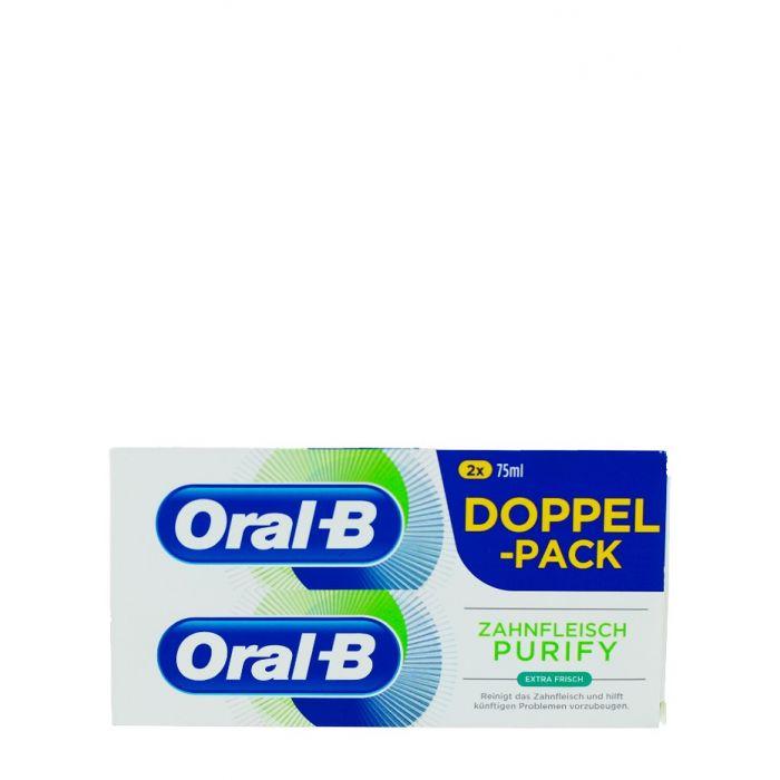 Oral-B Pasta de dinti 2X75 ml Gumline Purify Extra Fresh