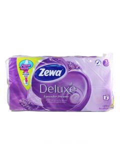 Zewa Hartie toaleta 3 straturi Deluxe 8 role Lavender Dreams