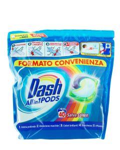 Dash Detergent Capsule 40 buc Salva Colore