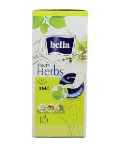 Bella Absorbante subtiri zilnice 18 buc Panty Herbs Tilia