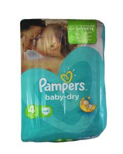 Pampers Scutece Nr. 4  9-14 kg 44 buc Baby-Dry