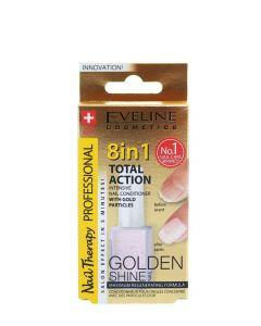 Eveline Tratament Unghii 12 ml Golden Shine 8 in1
