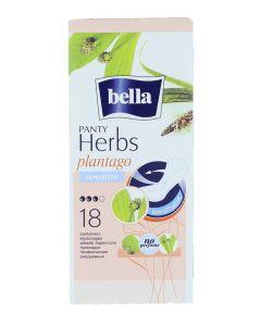 Bella Absorbante subtiri zilnice 18 buc Panty Herbs  Plantago