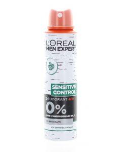L'oreal Spray Men Expert deodorant barbati 150 ml Sensitive Control