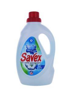 Savex Detergent lichid 1.1 L 20 spalari 2in1 White