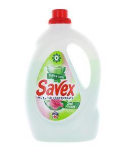 Savex Detergent lichid 2.2 L 40 spalari 2in1 Fresh