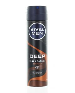 Nivea Spray deodorant barbati 150 ml Deep Espresso