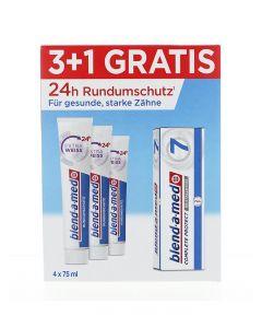 Blend-a-med Pasta de dinti 3x75 ml+75 ml Extra Weiss