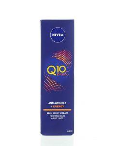 Nivea Crema antirid de noapte 40 ml Q10 Plus C