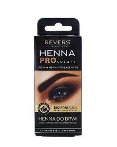 Revers Henna pentru sprancene 15 ml Dark Brown